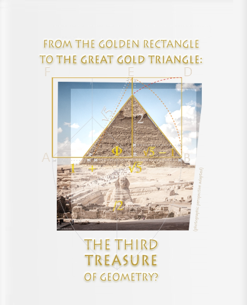 Giza pyramid and the Golden ratio
